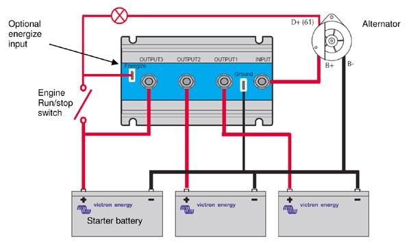 fet系列蓄电池隔离器